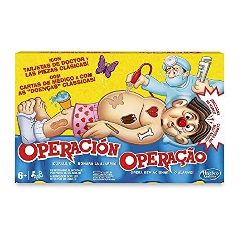 Hasbro Gaming Juego de mesa Operación, Hasbro B2176B09