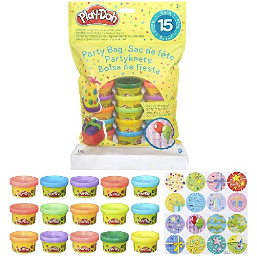 Play Doh Bolsa De 15 Mini Botes (Hasbro 18367EU5) , Color/Modelo Surtido
