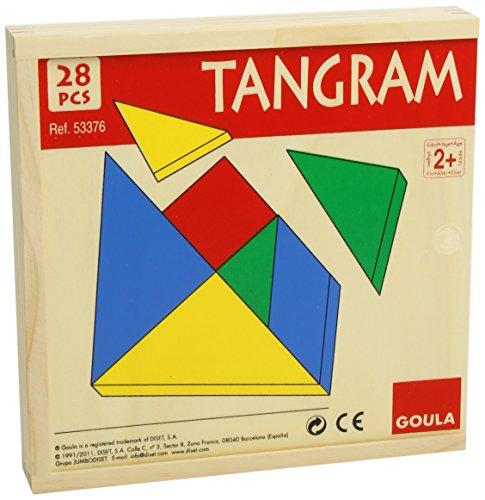Goula - Tangram, juego educativo (Diset 53376) , color/modelo surtido