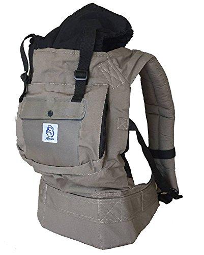 Mochila portabebes para llevar a tu bebe Manos libres - Portabebes de diseño Ergonómico con Múltiples posiciones - Se...