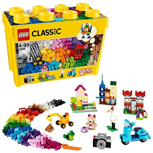 LEGO 10698 Classic CajadeLadrillosCreativosGrande,JuegodeConstrucciónparaNiñosyNiñasa Partir...