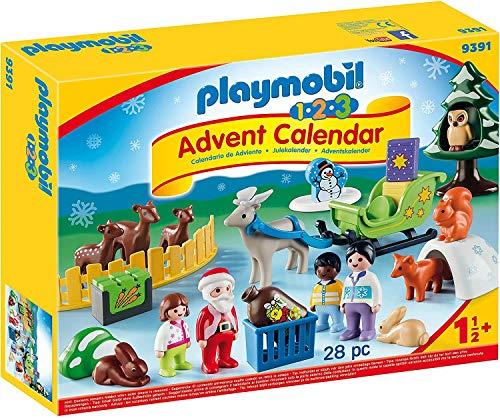 PLAYMOBIL Calendario de Adviento 9391 Navidad en el Bosque, A partir de 1,5 años