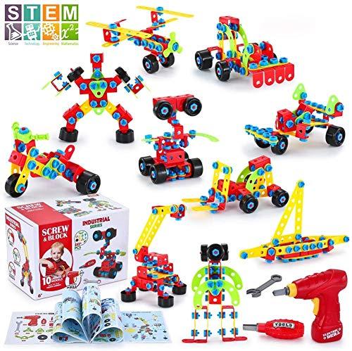 TINOTEEN Bloques de Construcción, Juguetes para Niños de 5, 6, 7 Años y Mayores, Aprendizaje de Juegos de...