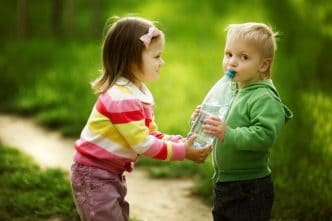 Enseñar a compartir a los niños