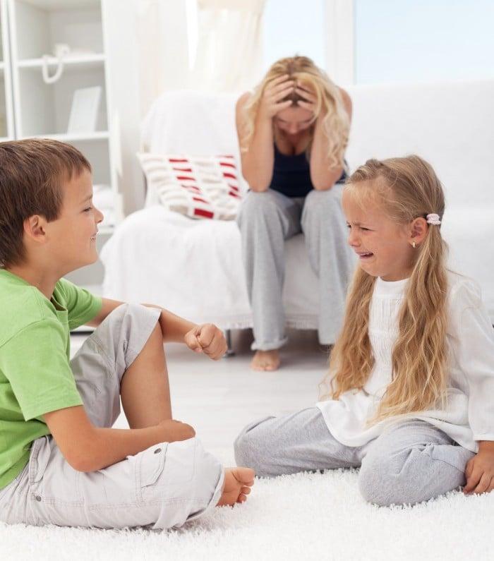 Familia niño hiperactivo