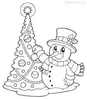 Para dibujar la navidad