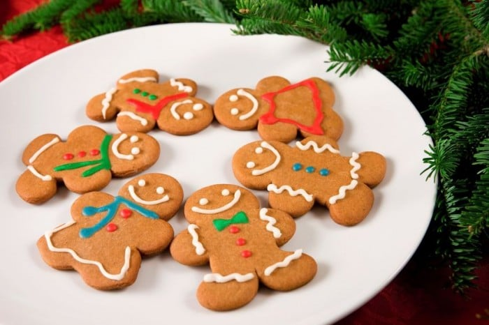 Galletas de jengibre - Recetas de galletas para hacer con niños en Navidad