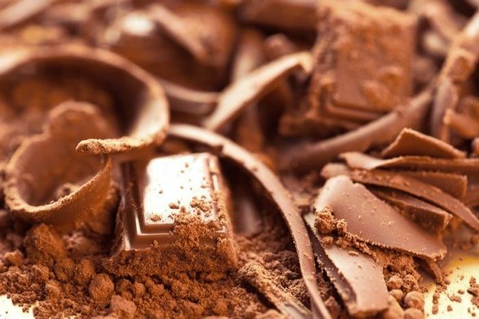 Turrón de chocolate - Recetas Navidad niños