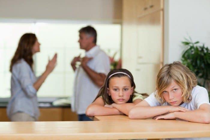 Malos ejemplos de padres a hijos