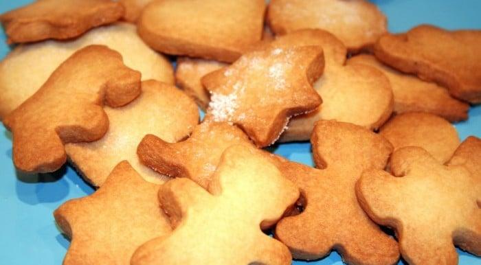Receta para hacer con niños Galletas de mantequilla