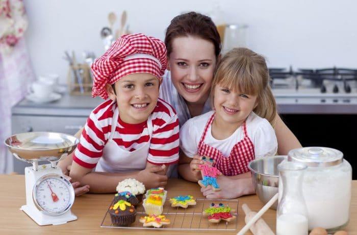 Recetas para hacer con niños