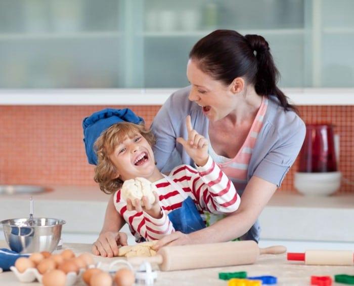 Recetas para hacer con los niños