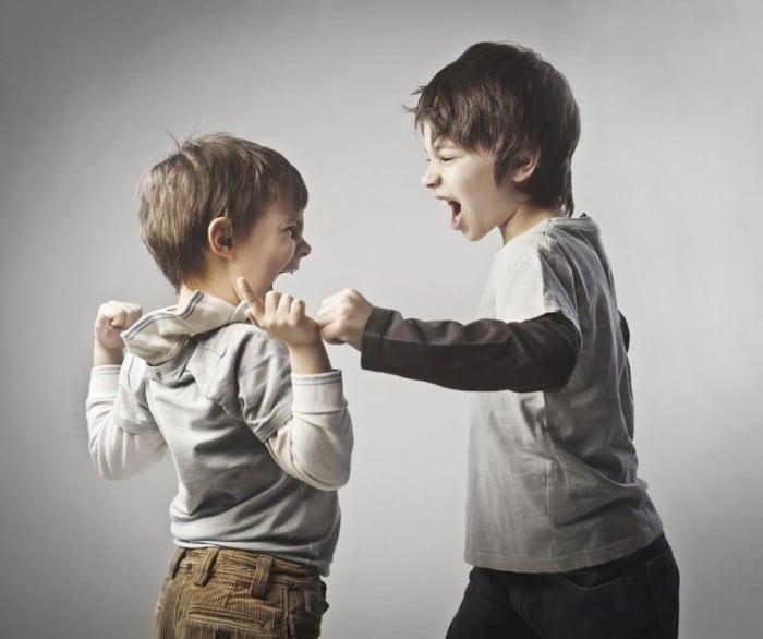 pelea infantil