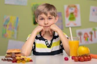 Colesterol infantil
