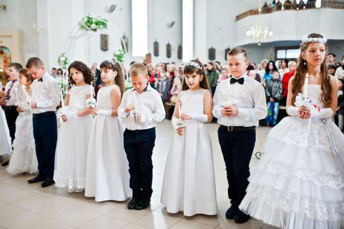 Consejos para elegir el traje de comunión