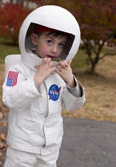 Disfraz infantil de astronauta