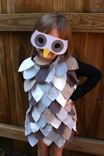 Disfraz infantil de búho