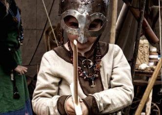 Disfraz medieval niña y niño
