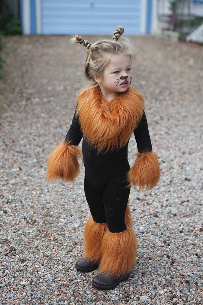 Disfraz infantil de leona
