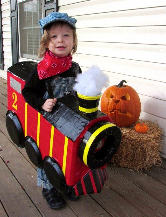 Disfraz infantil de locomotora