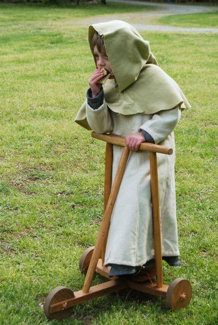 Disfraz monje medieval