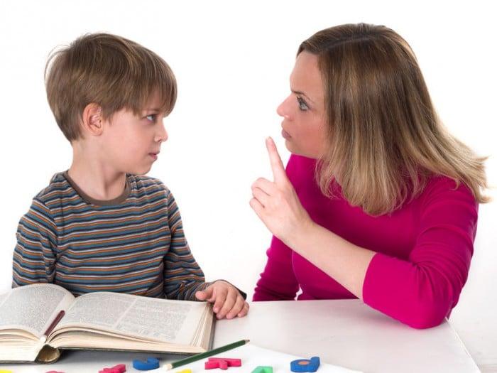 Castigar a niños con TDAH