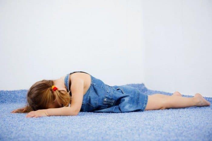 Crisis de ausencia en niños