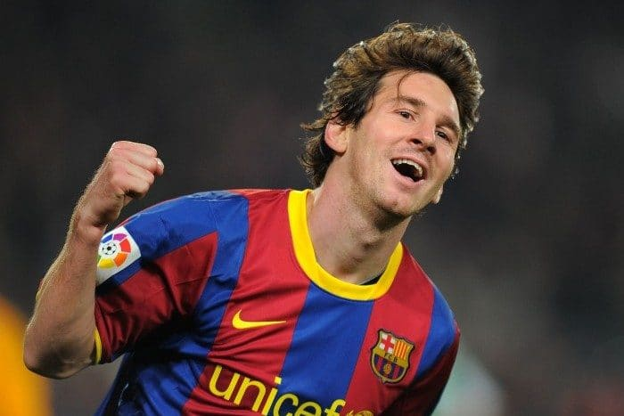 La infancia de Lionel Messi