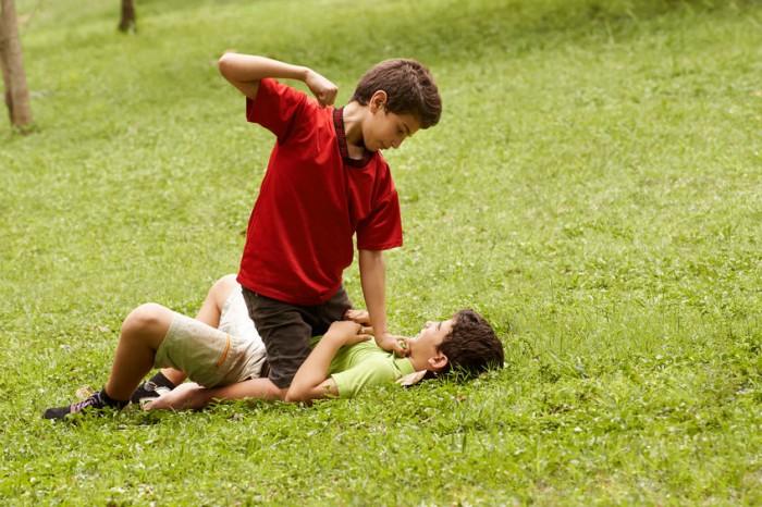 Niños agresivos
