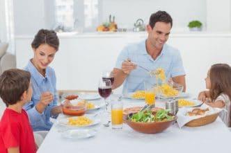 Nutrición saludable en niños