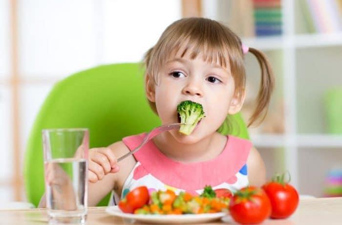 Nutrición saludable niños
