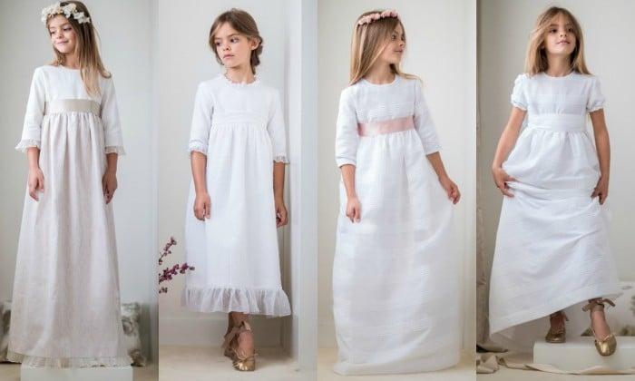 Vestidos para un dia de comunion