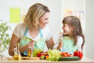 Dieta saludable para niños