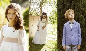 Vestidos y trajes comunión 2015