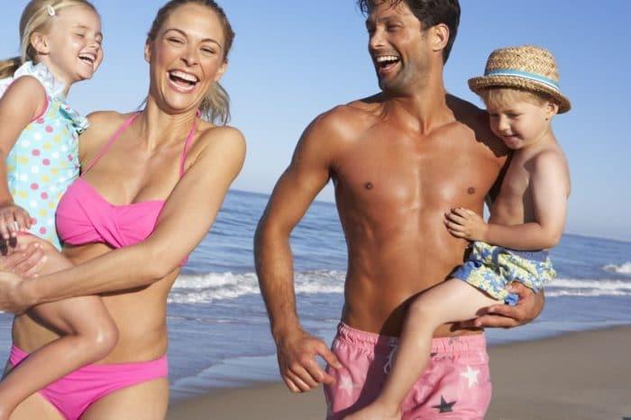 Actividades infantiles al aire libre Excursión a la playa