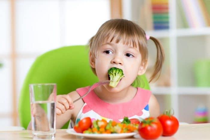 Dieta saludable para los niños