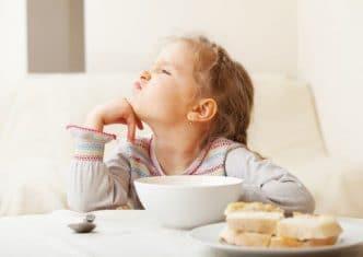 Niño no quiere comer nada