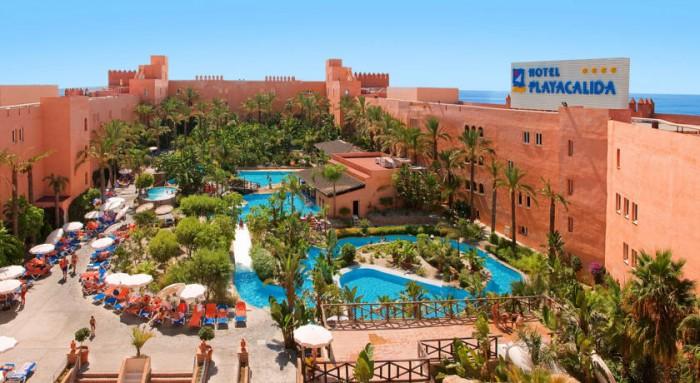 10 hoteles todo incluido para ni os en andaluc a etapa infantil - Hotel piscina toboganes para ninos ...
