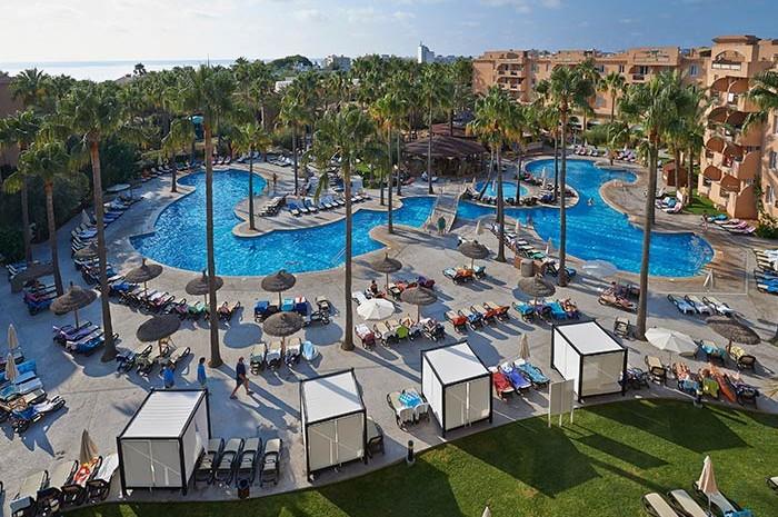 Hotel para niños Protur Bonaire Aparthotel, en Cala Bona, Mallorca