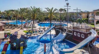 Hotel para niños Zafiro Can Picafort, en Mallorca