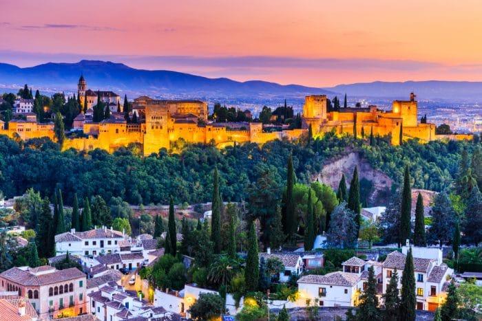 Alhambra, en Granada