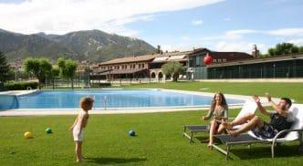 Camping Berga Resort, en Berga, Barcelona