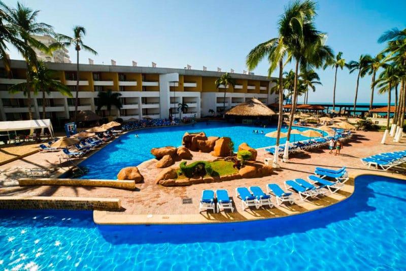 El Cid Castilla Hotel de Playa, en Mazatlán, México