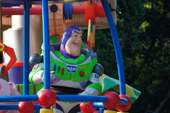 Buzz Lightyear en Disneyland Paris