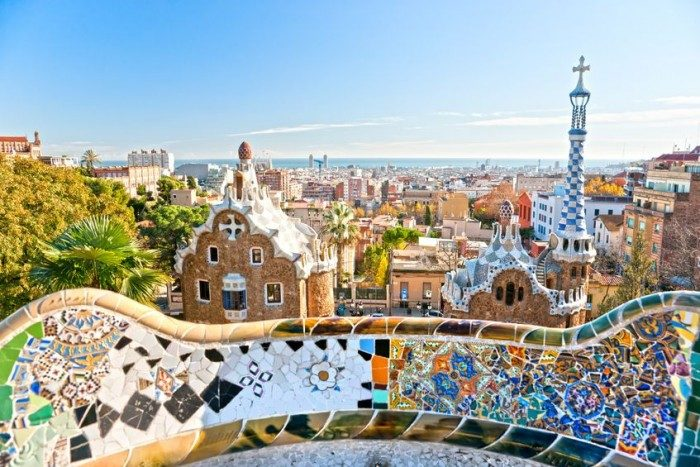 Gaudí Barcelona - Viajar con niños Europa