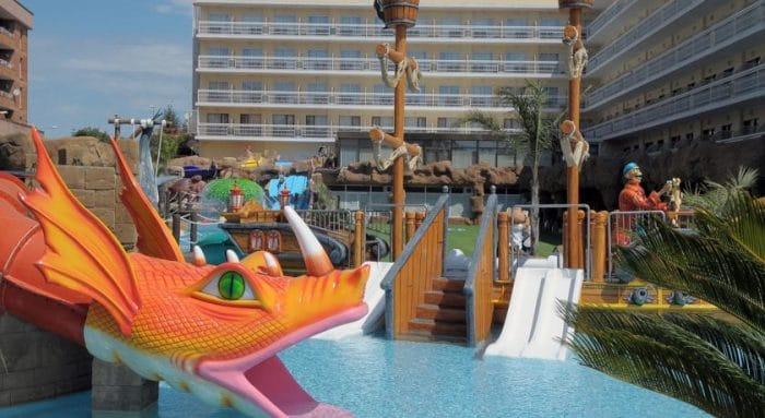 Hotel Evenia Olympic Resort, en Lloret de Mar, Costa Brava, Girona, Cataluña