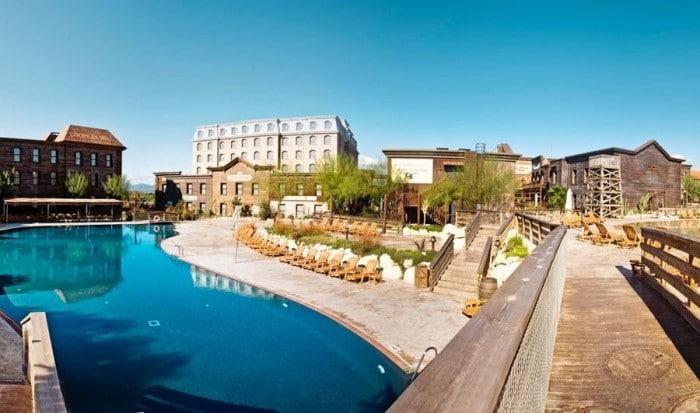 Hotel para niños Gold River -PortAventura World, en Salou, Tarragona