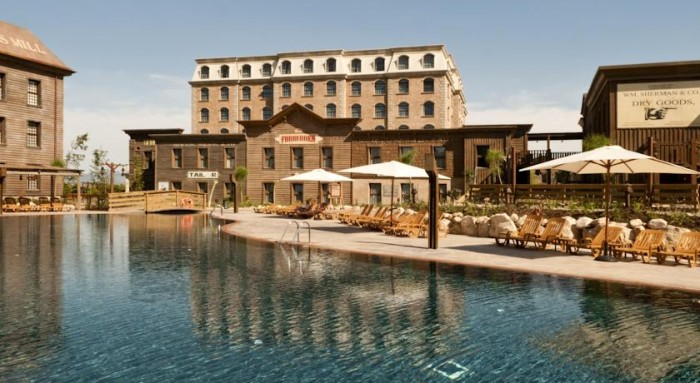 Hotel Gold River - PortAventura World, en Solou, Tarragona, Cataluña