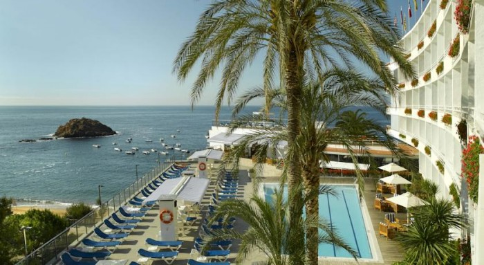 Gran Hotel Reymar, en Tossa de Mar, Costa Brava