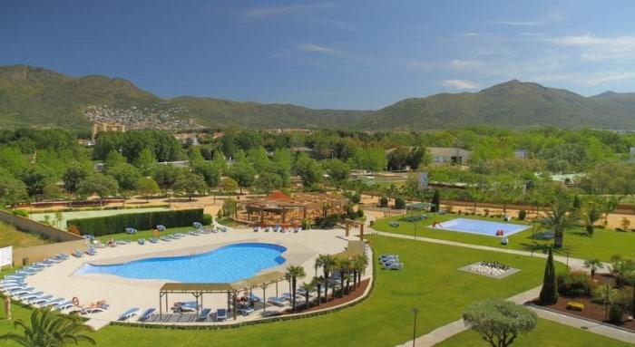 Hotel Mediterraneo Park, en Roses, Costa Brava, Girona, Cataluña